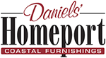 Daniels' Homeport Coastal Furnishings Retina Logo