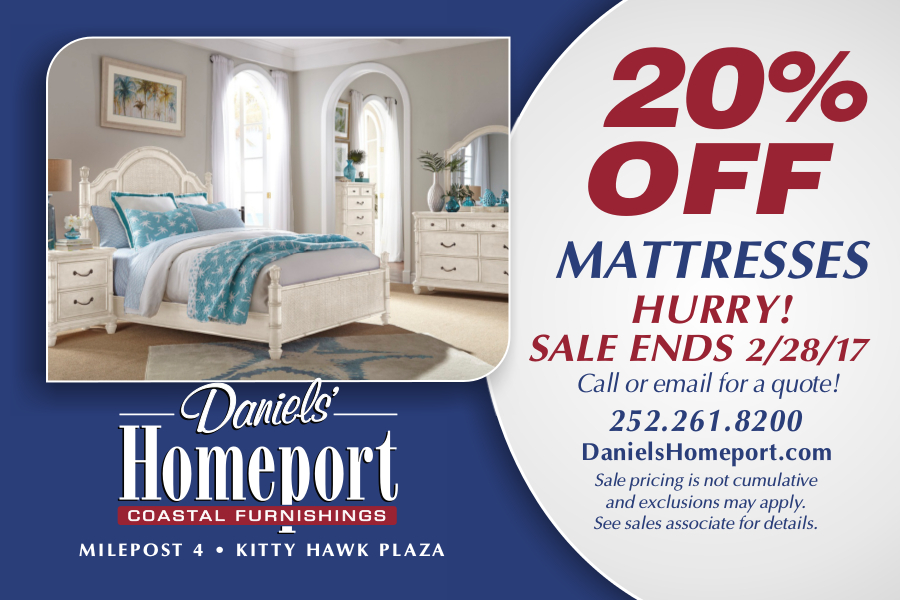 mattress sale 20% off